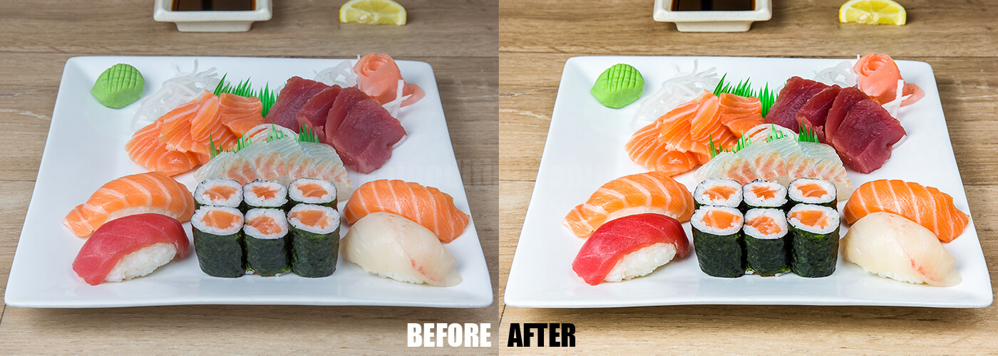 Food Photo Editing