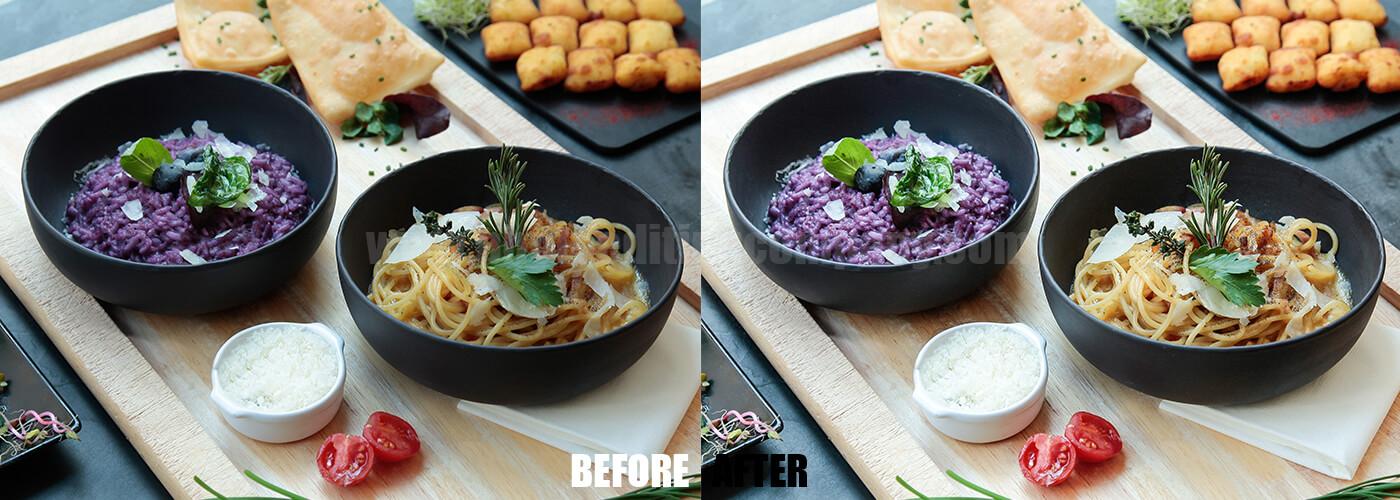 Food Photo Editing Service