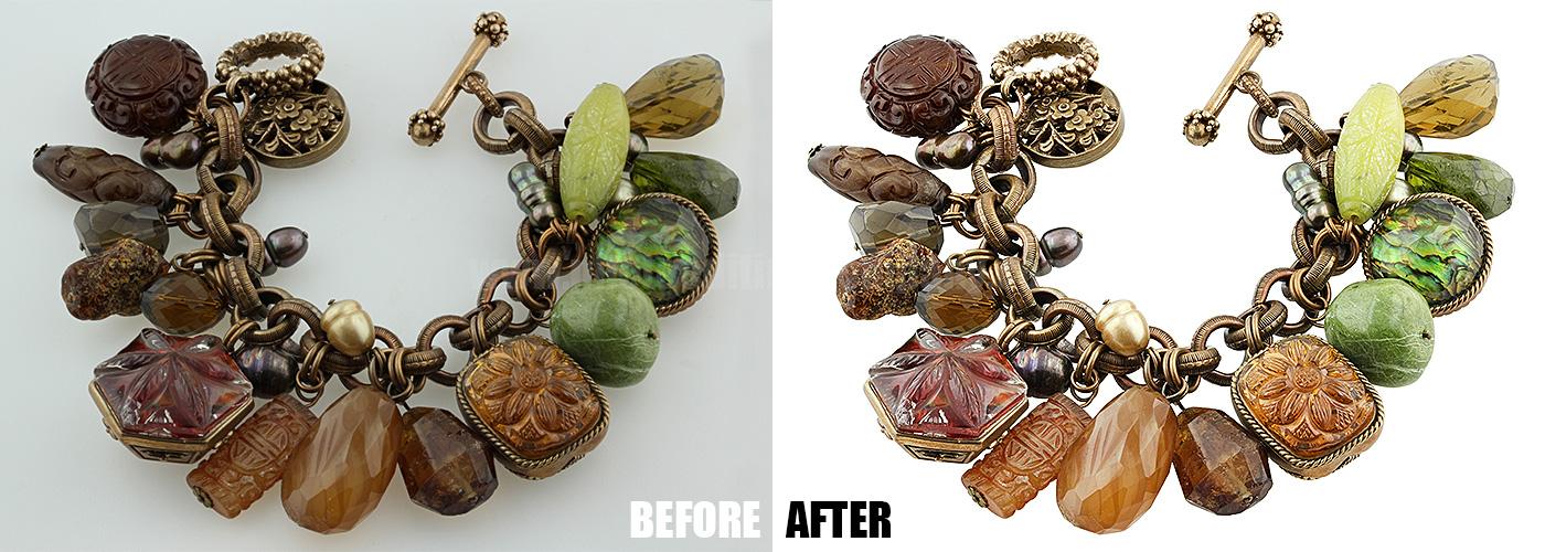 High End Jewelry Photo Retouching