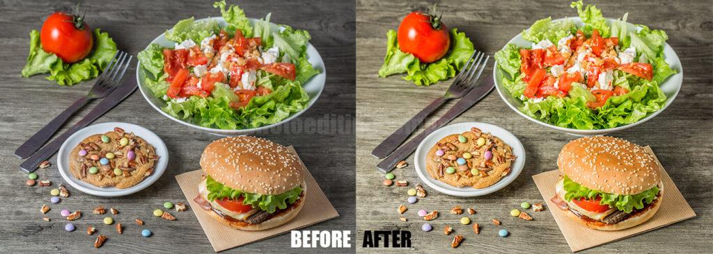 Photo Editing Food Photoshop